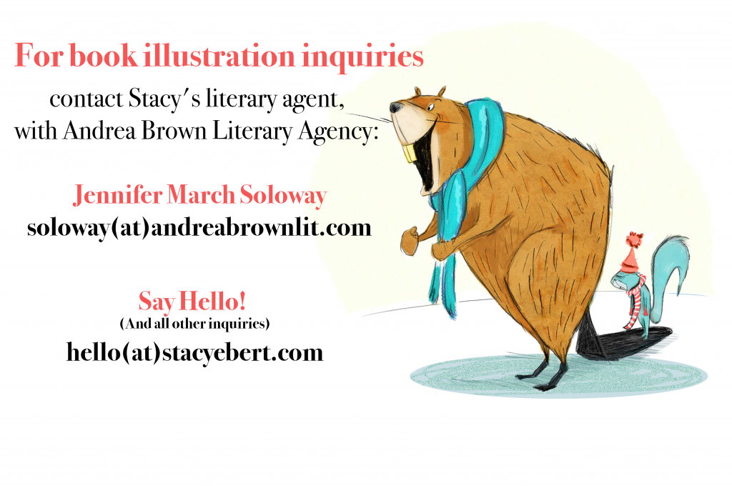 Contact Stacy Ebert—illustrator